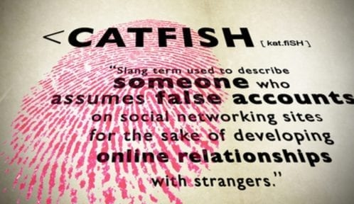 What does getting catfished mean