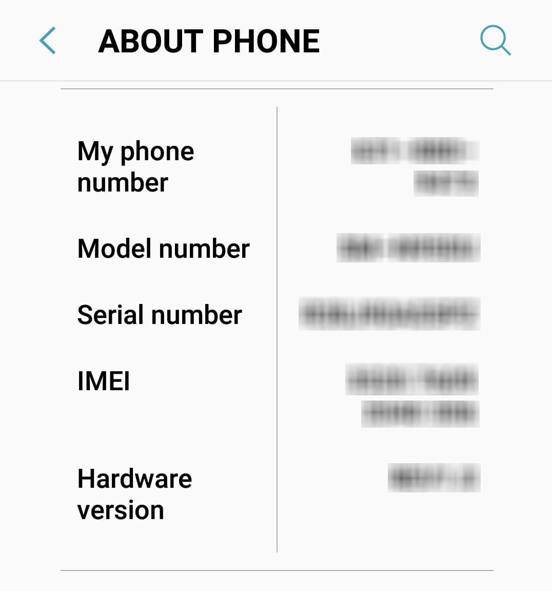 tracking messages through imei