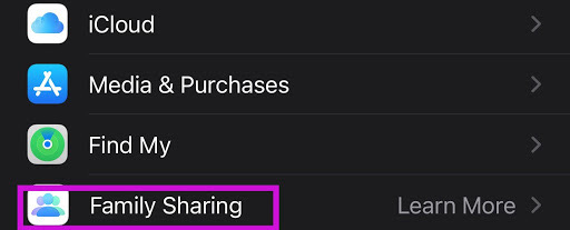 Share iPhone location by contact app